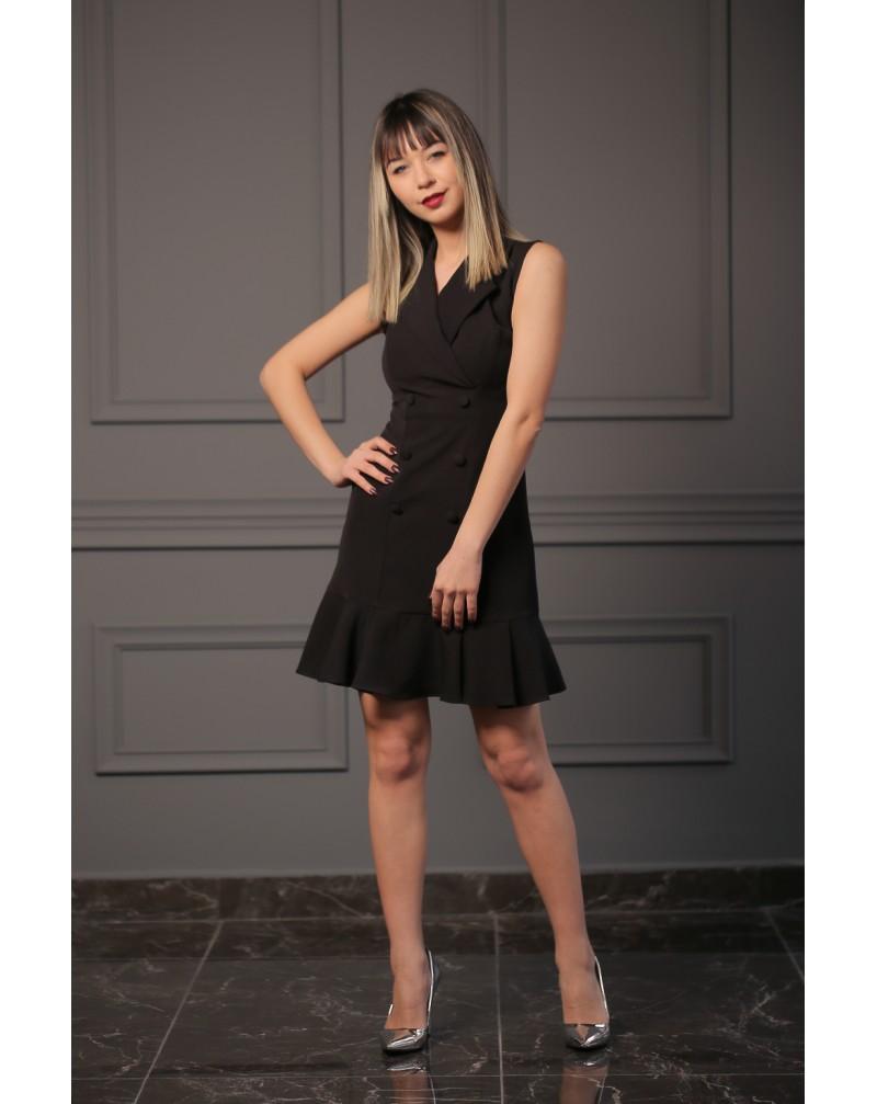Kolsuz Blazer Elbise